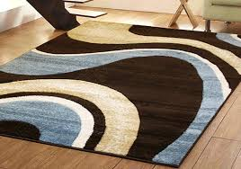 Top 70 Cool Blue And Lime Green Area Rugs Chocolate Brown Rug
