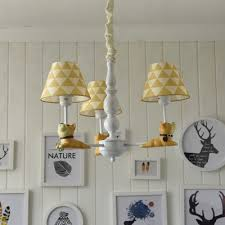 3 5 light cartoon dog kids room chandelier with diamond patterned shade 28 74