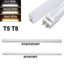 3 Ft Fluorescent Shop Light Details About Led Tube Light T8 T5 1ft 2ft 3ft 4ft Led Shop Light Wall Bulb Replacement Lights