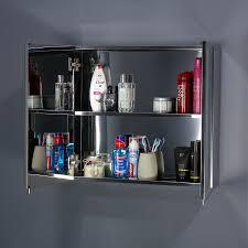 double door open. Stainless Steel Double Door Bathroom Cabinet Doors Open R