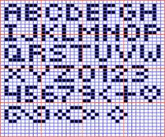 Alphabets On Graph Paper Magdalene Project Org