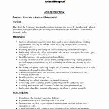 Awesome Beauty Salon Receptionist Resume Sample Gallery Entry