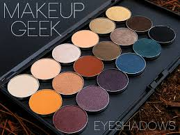 these makeup geek eyeshadows are so pigmented and creamy that you won t regret ing them i promise