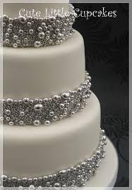 Silver Balls For Cake Decorating Amazing Silver Ball Wedding Cake Heidi Stone Flickr
