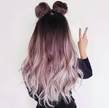 Awesome rockin hairstyle and color. Ombre dark to light. Cute and casual  style.