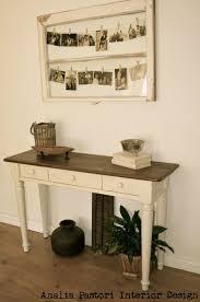 distressed white wood furniture. distressed white sofa table by analia pastori interior design wood furniture