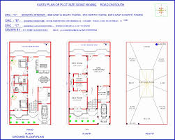indian vastu house plans for 30 60 north facing and south facing house plans according to vastu shastra in