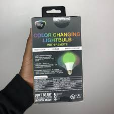 Ihip Color Changing Light Bulb Brand New Ihip Color Changing Lightbulb I Bought