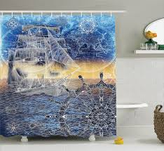 bathroom extraordinary mint brown peach white shower curtain whale shark seahorse sea creatures rope picture