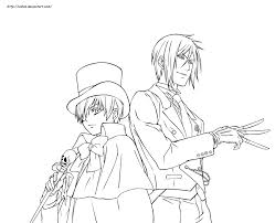 black butler coloring pages 5347 1086 1500 pizzau2 for for black butler coloring pages