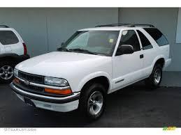 2001 Summit White Chevrolet Blazer LS #33146569 | GTCarLot.com ...