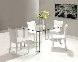 modern glass kitchen table. Simple Kitchen Modern Glass Dining Room Sets Kitchen Redesign Table  Small Top Tables Throughout