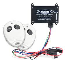 power pole remote control unit motortech power pole remote control unit
