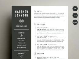 Cool Resume Templates For Mac Fascinating Unique Resume Templates Stylist Design Resume Templates Free