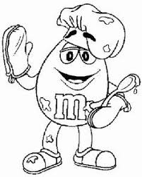 M M Candy Coloring Pages For Kids And For Adults Coloring Home