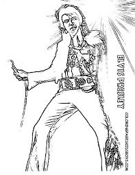 Small Picture Elvis Presley Coloring Pages Bestofcoloringcom Coloring Home