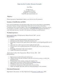 Grocery Clerk Job Description For Resume Grocery Clerk Job