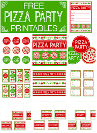 gorgeous printable pizza party flyer following mini st gorgeous printable pizza party flyer following mini st article