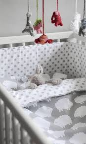 baby crib cot bedding blue or pink and