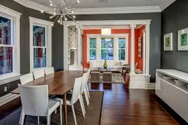 painting adjoining rooms different colorsMain Living Space  Craftsman  Dining Room  Seattle  by Board