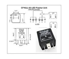 3 pin electronic car motorcycle flasher relay fix led light db 3 Pin Flasher Relay Wiring Diagram 3 pin electronic car motorcycle flasher relay fix led light db error fast signal ebay 3 pin flasher relay wiring diagram manual