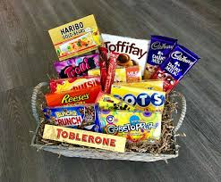 grand candy gift basket