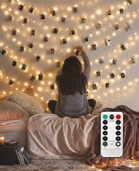Photo Clip String Lights Walmart Photo Hanging Clips String 40 Led Photo Clips String Lights 16 4ft Photo String Lights With Clips 8 Modes Fairy Lights With Clips For Pictures With