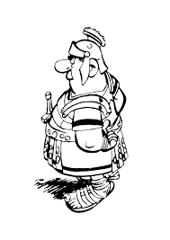 Asterix En Obelix Romeinse Officier Asterix En Obelix Kleurplaten