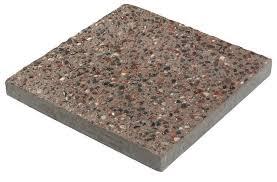 exposed aggregate square patio block