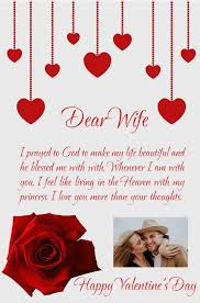 customized valentine s day letter for wife