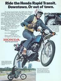 vintage honda motorcycle ads. Honda Rapid Transit Bike 1976 Ad Picture To Vintage Motorcycle Ads