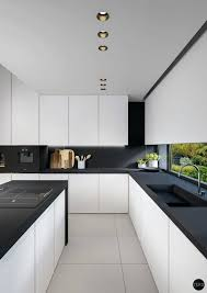 modern white and black kitchens. Modern Black Kitchen Table White Photos Large Size Of Kitchenmodern Contemporary Kitchens And