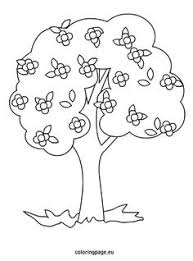 Small Picture Spring Tree coloring page Spring Pinterest Spring tree