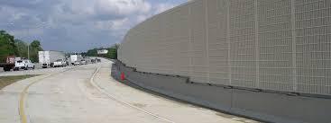 sound barrier walls. Highway Sound Walls Barrier R