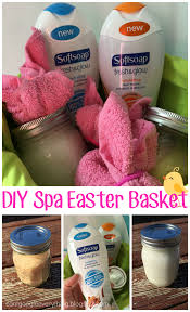 Spa Easter Basket with Softsoap Fresh and Glow! Perfect Easter ...