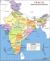 india political map ( h x  w) vinyl print maps of india