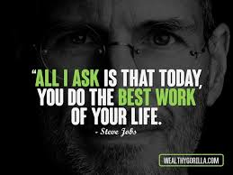 Steve Jobs Quotes On Life Interesting 48 Inspirational Steve Jobs Quotes To Learn From Wealthy Gorilla
