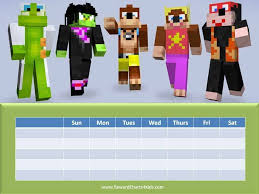 Minecraft Star Chart Free Printable Customizable Minecraft Behavior Charts