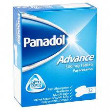 Panadol Advance 32 X 500mg Tablets