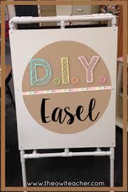 Anchor Chart Easel Diy Easel For Your Classroom The Owl Teacher