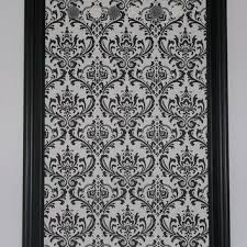 Damask Memo Board Amazing Shop Fabric Memo Board On Wanelo