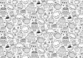 Small Picture Printable kawaii coloring pages for adults ColoringStar