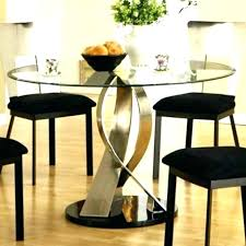 circle dining table dimensions set used round small half kitchen semi mar