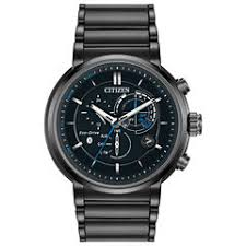 smart watches men s watches for jewelry watches jcpenney citizen® eco drive mens black ion plated proximity watch bz1005 51e