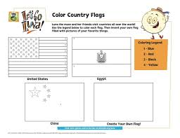 World countries flag coloring sheets 8. Color The Country Flags Coloring Page Kids Pbs Kids For Parents