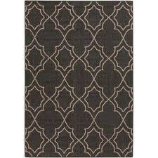 anderson black 2 ft x 5 ft indoor outdoor area rug