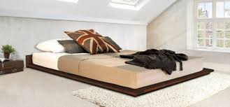 Modern low bed Walnut Reasons To Buy Modern Low Bed Get Laid Beds The Bed Blog Get Laid Beds The Bed Blog