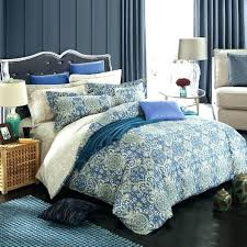 duck egg blue and gold duvet covers covers cobalt blue gold and grey vintage vine pattern