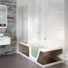 free standing bathtub shower combination rectangular acrylic step in pure 01