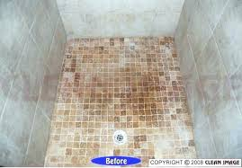 natural stone shower cleaner how